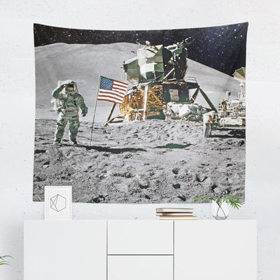 Moon Landing Tapestry-W.FRANCIS