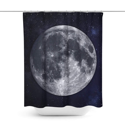 Moon Stars Shower Curtain-W.FRANCIS