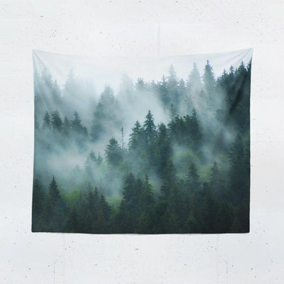 Mountain Fog Tapestry-W.FRANCIS