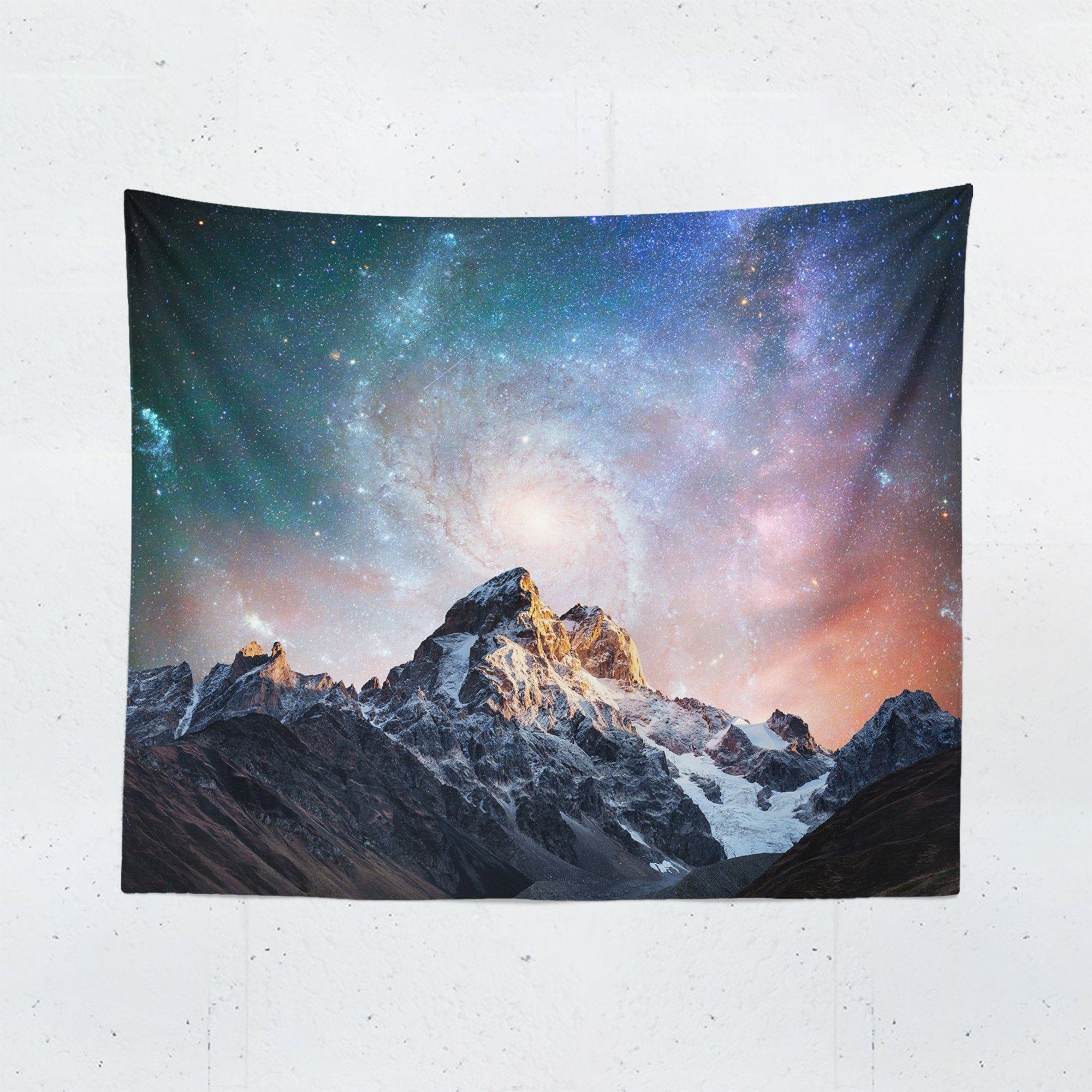 Mountain Galaxy Tapestry-W.FRANCIS