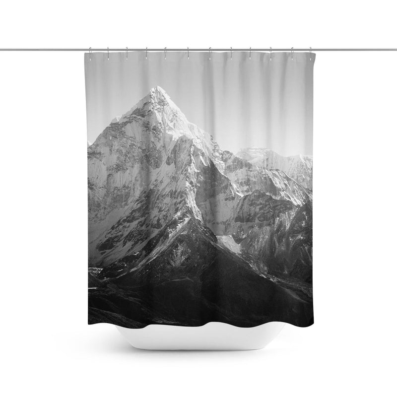Mountain Shower Curtain-W.FRANCIS