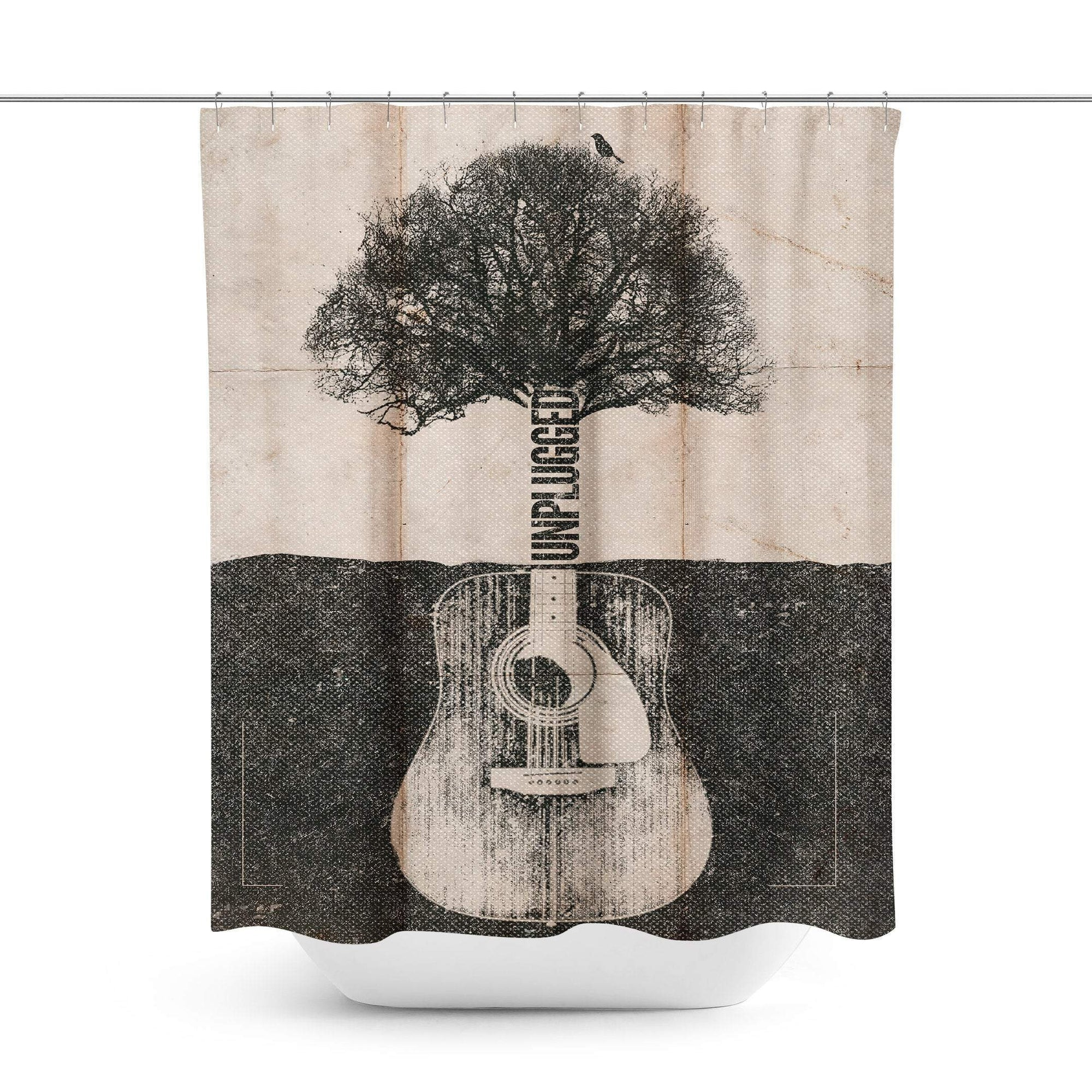 Music Shower Curtain-W.FRANCIS