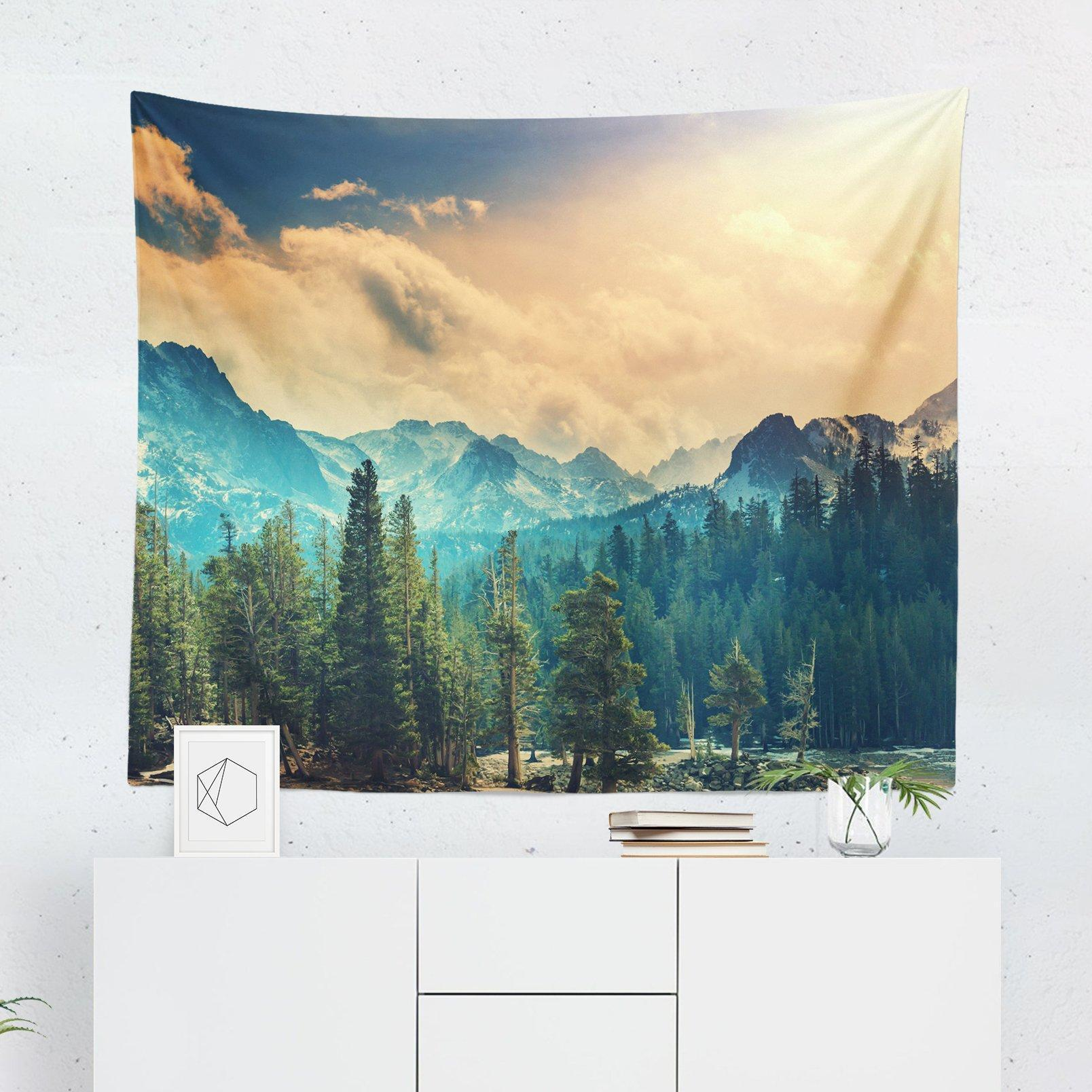 National Park Forest Wall Tapestry-W.FRANCIS