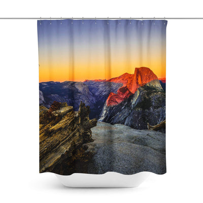 National Park Shower Curtain-W.FRANCIS