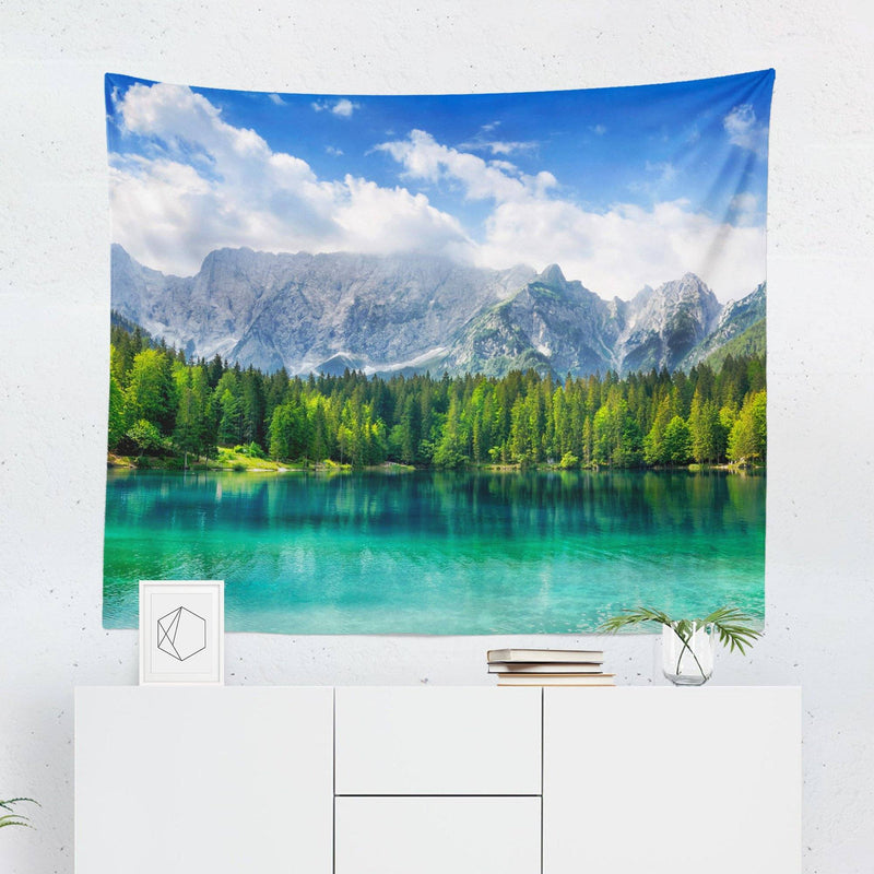 Nature Lake Tapestry-W.FRANCIS