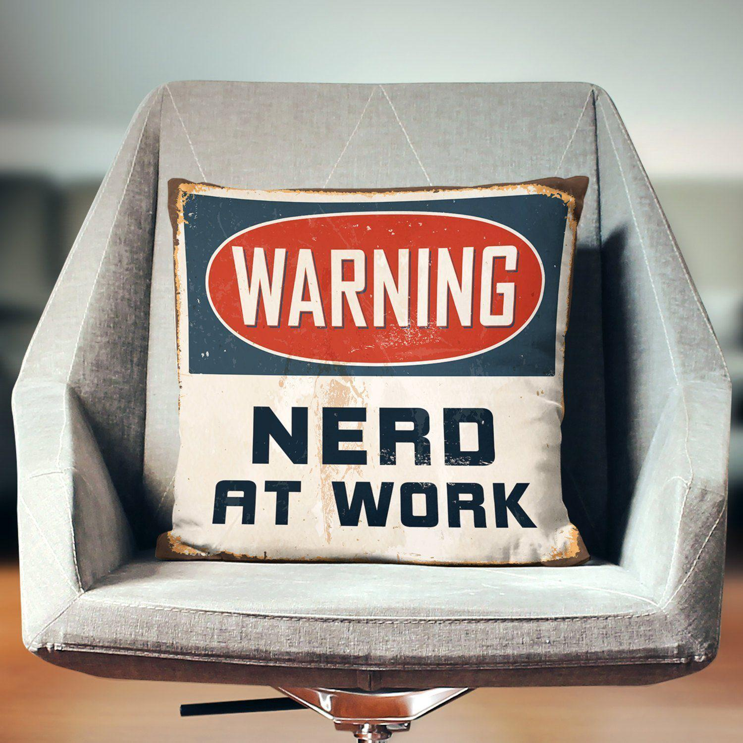 Nerd Pillow-W.FRANCIS