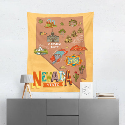 Nevada Wall Tapestry-W.FRANCIS