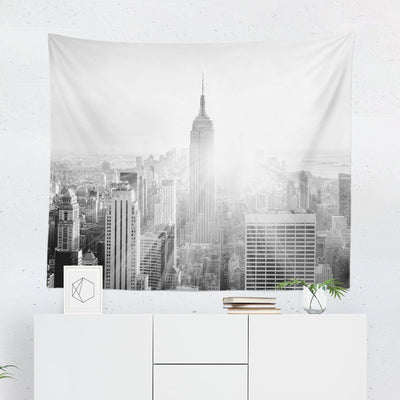 New York Black & White Tapestry-W.FRANCIS