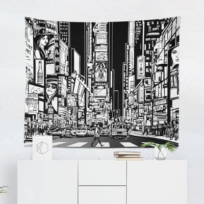New York City Art Tapestry-W.FRANCIS