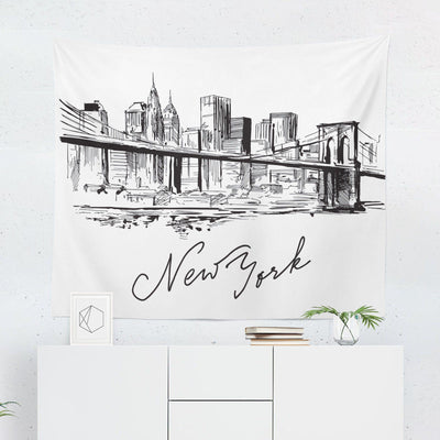 New York Sketch Tapestry-W.FRANCIS
