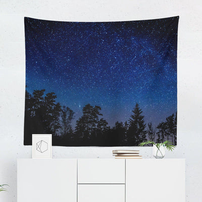 Night Sky Wall Tapestry - Tapestries - W.FRANCIS