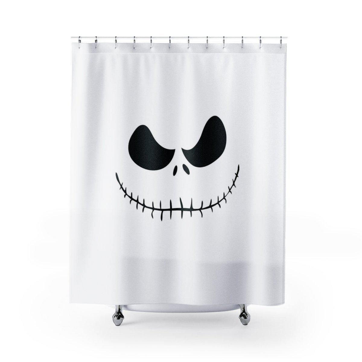 Nightmare Before Christmas Shower Curtain-W.FRANCIS
