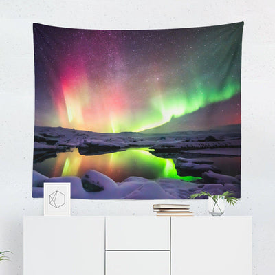 Northern Lights Tapestry-W.FRANCIS