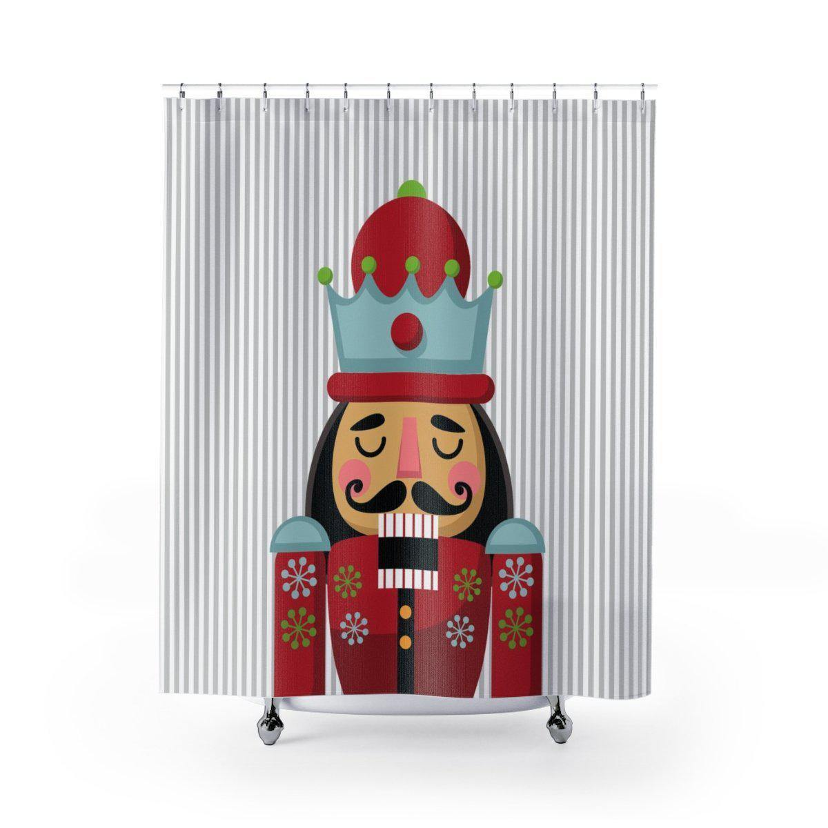 Nutcracker Shower Curtain-W.FRANCIS