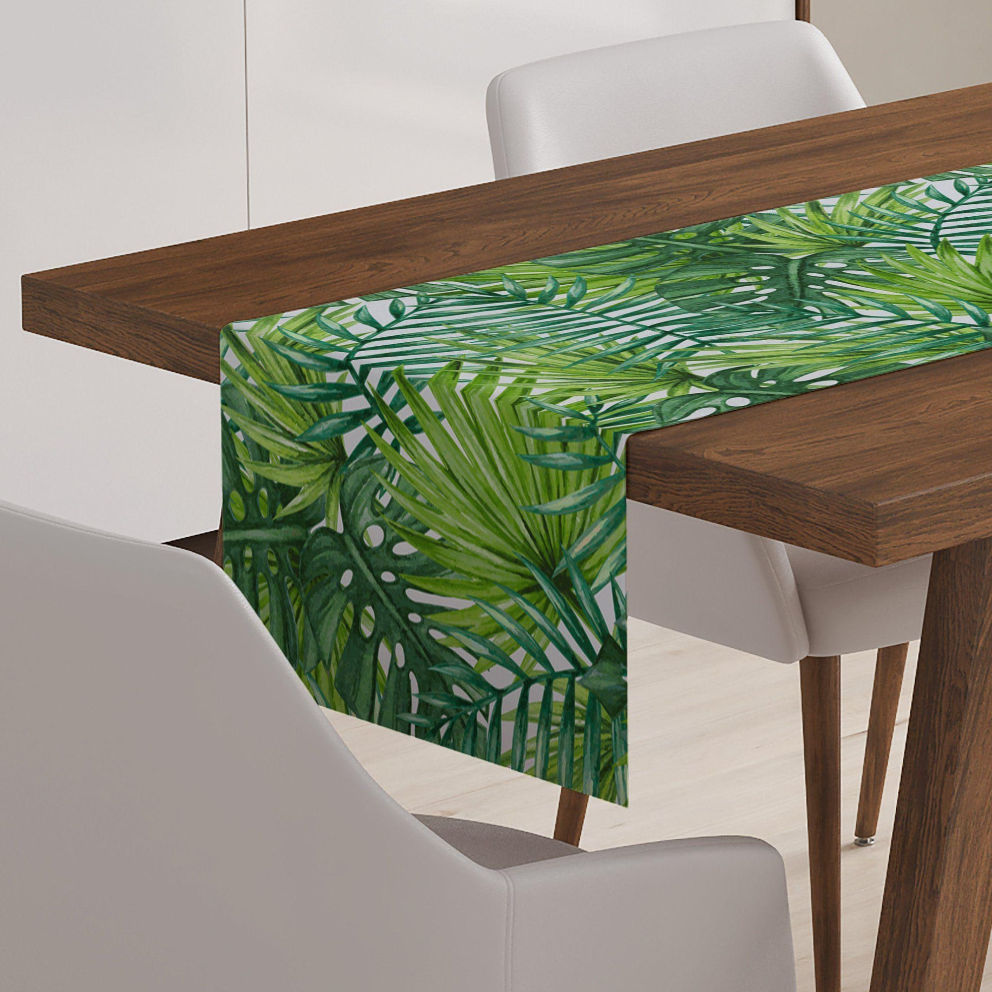 Palm Leaf Table Runner-W.FRANCIS