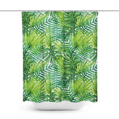 Palm Shower Curtain-W.FRANCIS