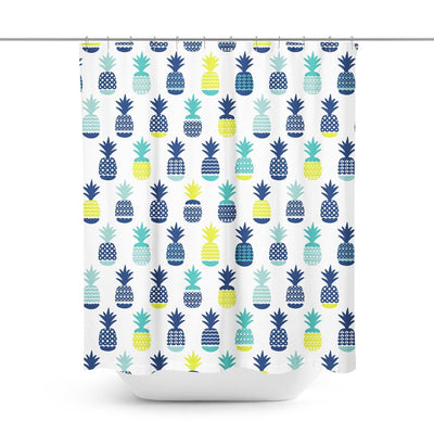 Pineapple Shower Curtain-W.FRANCIS