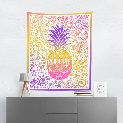 Pineapple Wall Hanging-W.FRANCIS