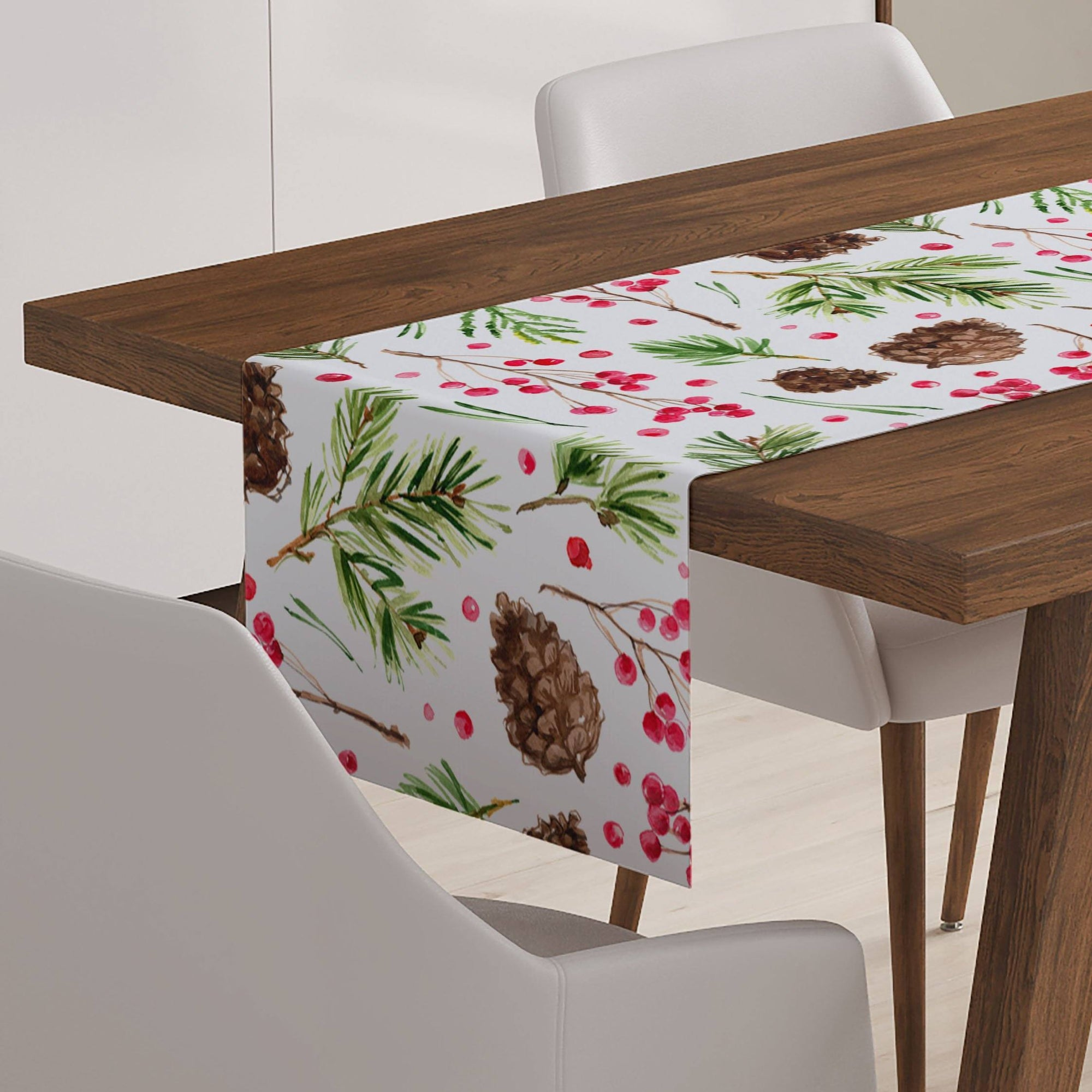 Pinecone Table Runner-W.FRANCIS