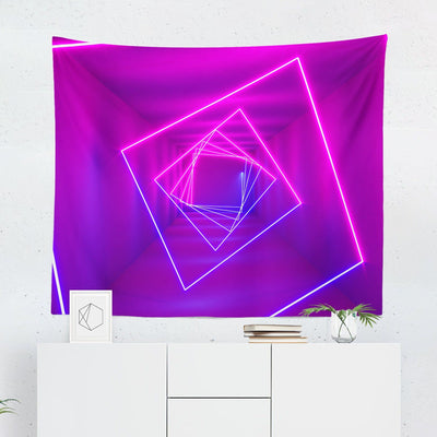 Pink Neon Tapestry-W.FRANCIS