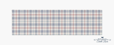 Plaid Table Runner-W.FRANCIS