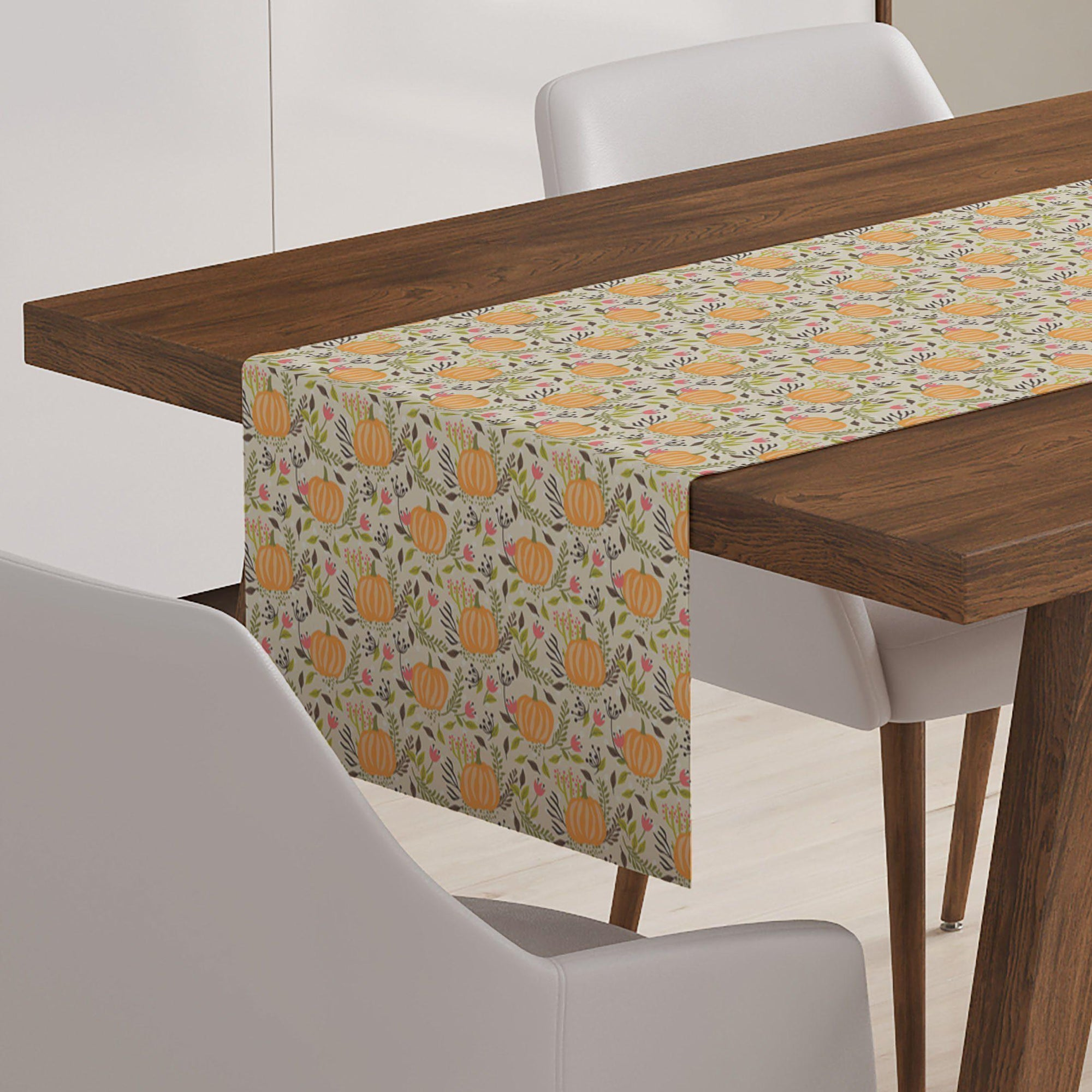 Pumpkin Table Runner-W.FRANCIS