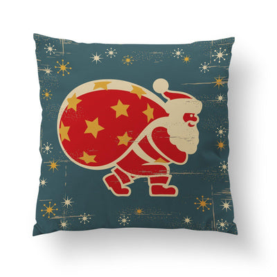 Retro Santa Pillow-W.FRANCIS