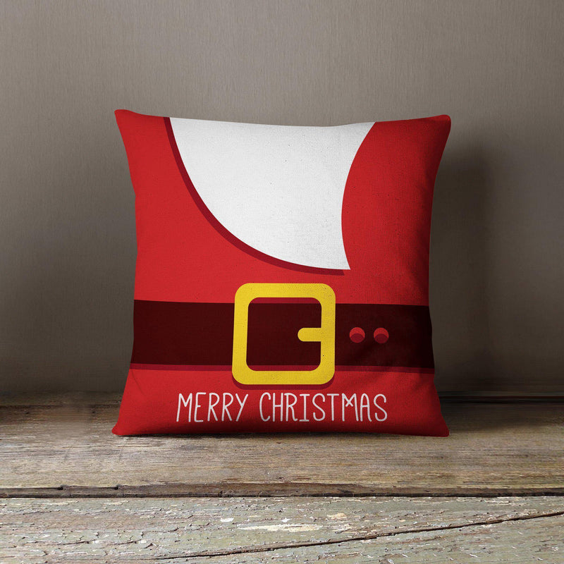 Santa Throw Pillow-W.FRANCIS