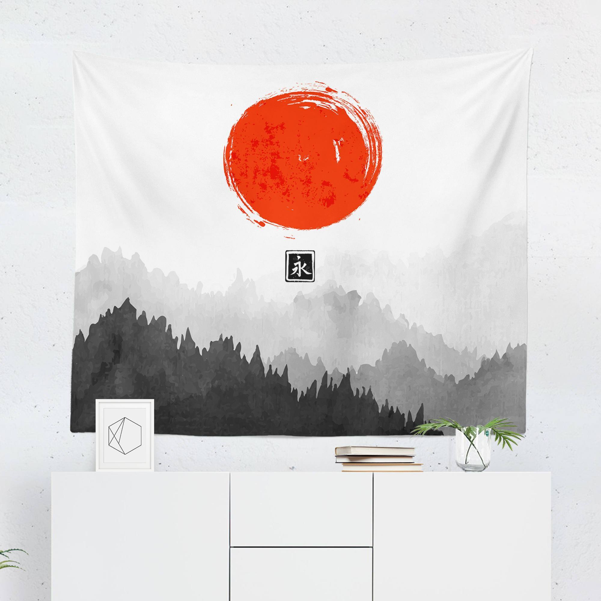 Scenic Japanese Tapestry - Tapestries - W.FRANCIS