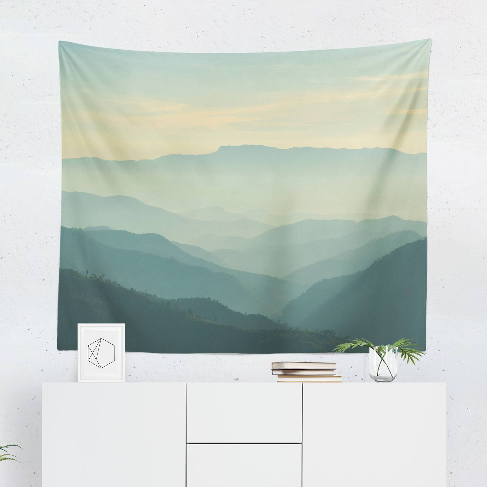 Scenic Landscape Tapestry-W.FRANCIS