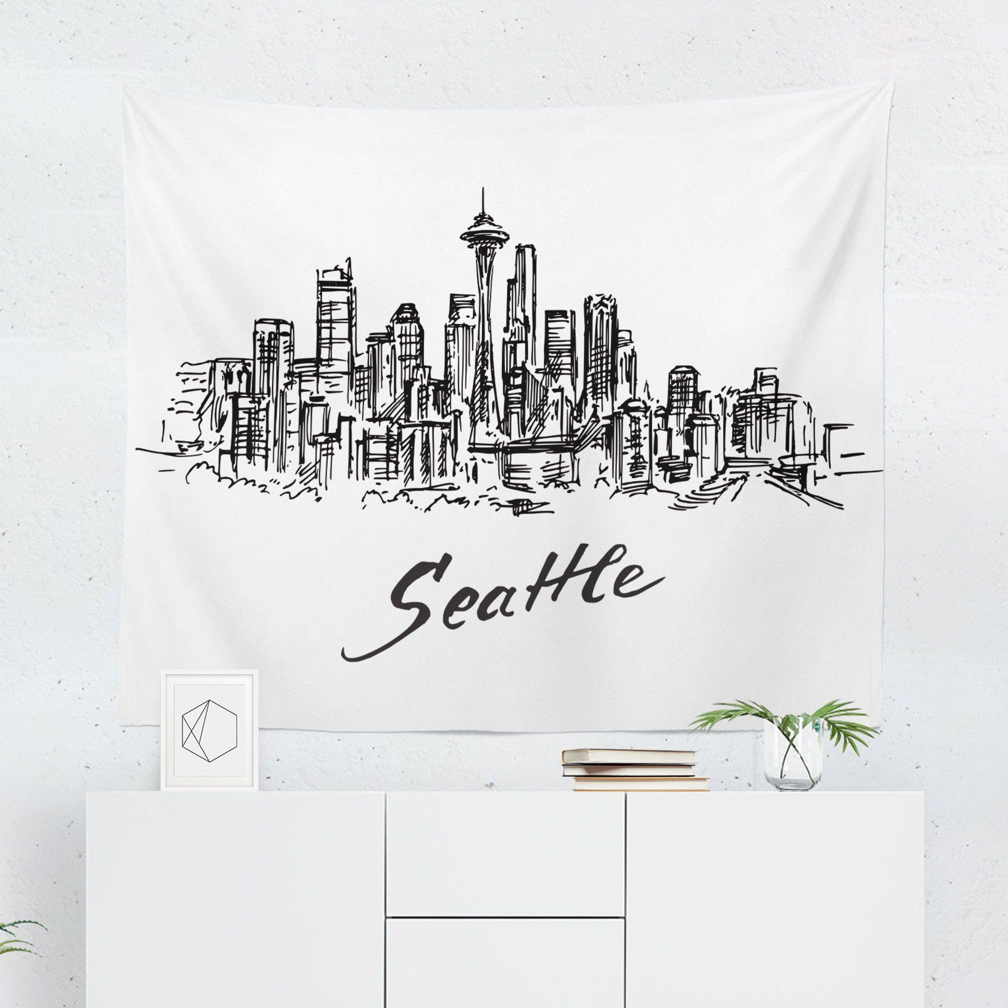 Seattle Tapestry-W.FRANCIS