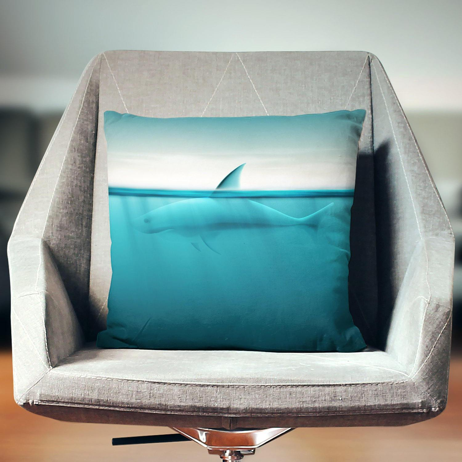 Shark Pillow - Pillow Covers - W.FRANCIS