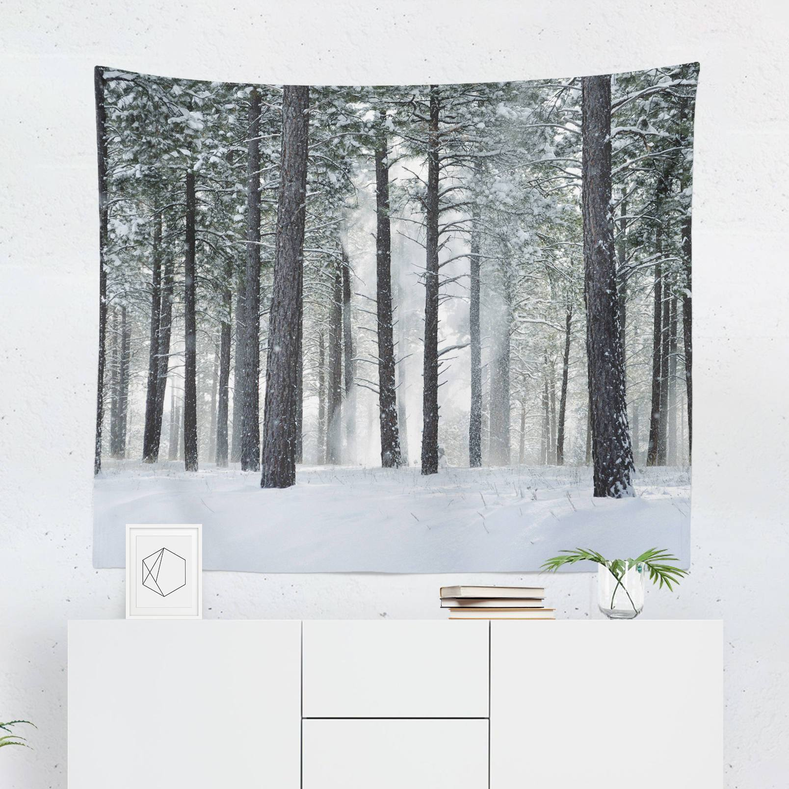 Snow Forest Tapestry-W.FRANCIS