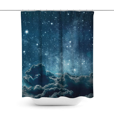 Space Shower Curtain-W.FRANCIS