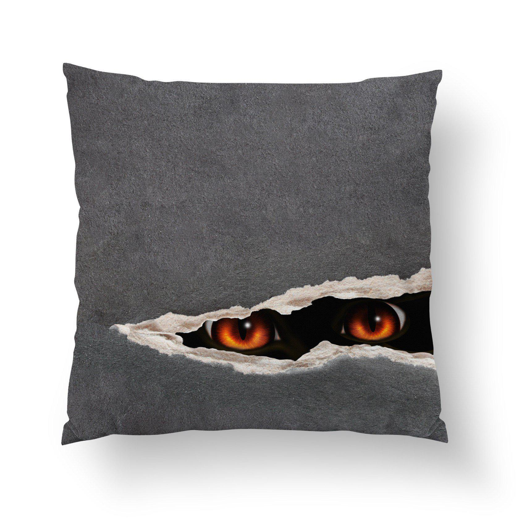Spooky Throw Pillow-W.FRANCIS