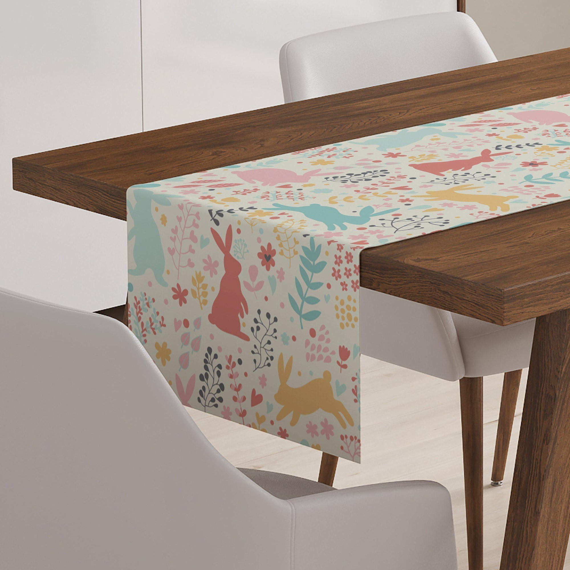 Spring Bunny Table Runner-W.FRANCIS