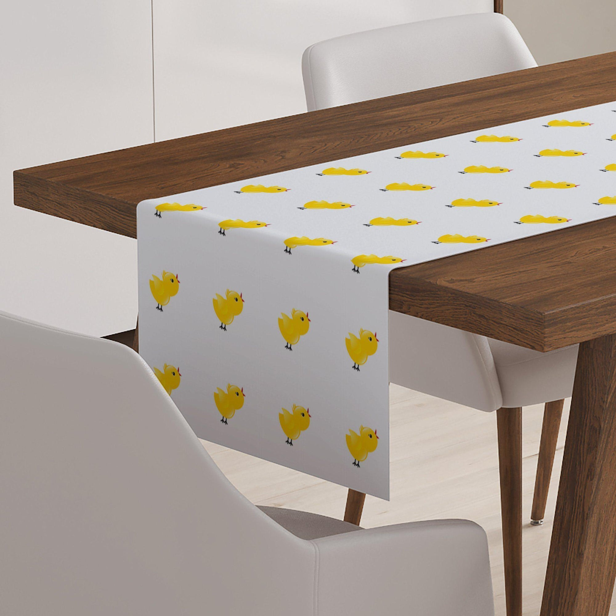 Spring Chick Table Runner-W.FRANCIS