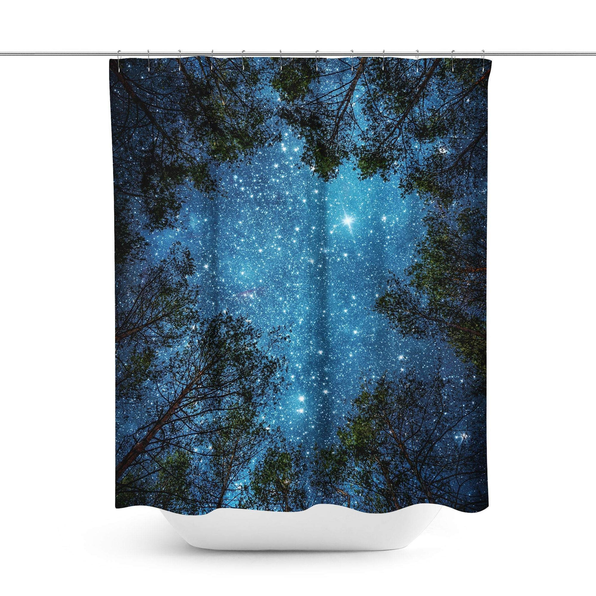 Stars Shower Curtain - Shower Curtains - W.FRANCIS