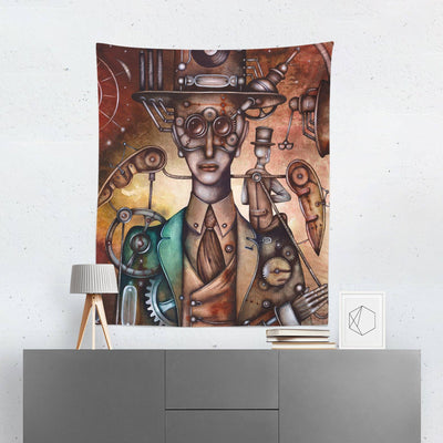 Steampunk Wall Tapestry - Tapestries - W.FRANCIS