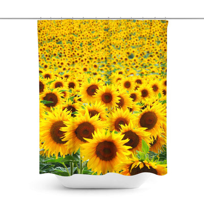 Sunflower Shower Curtain-W.FRANCIS