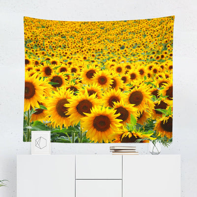 Sunflower Wall Tapestry-W.FRANCIS