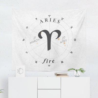 Taurus Star Sign Wall Tapestry-W.FRANCIS