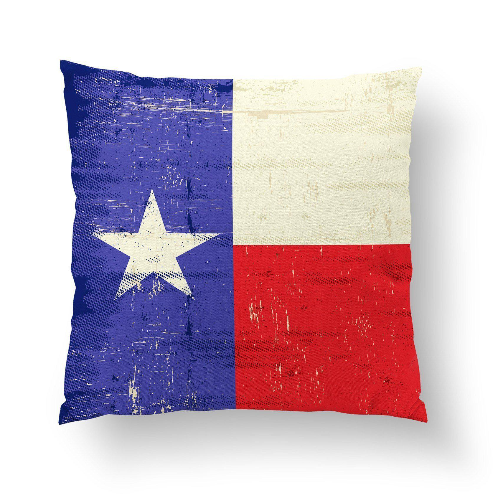 Texas Flag Pillow-W.FRANCIS