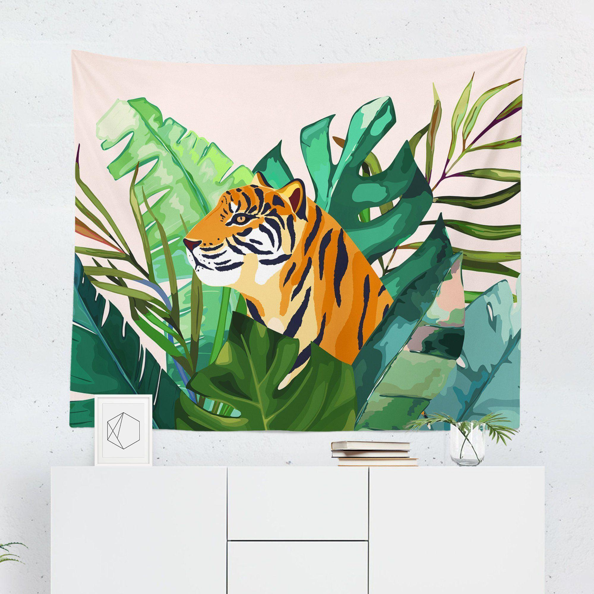 Tiger Tapestry-W.FRANCIS
