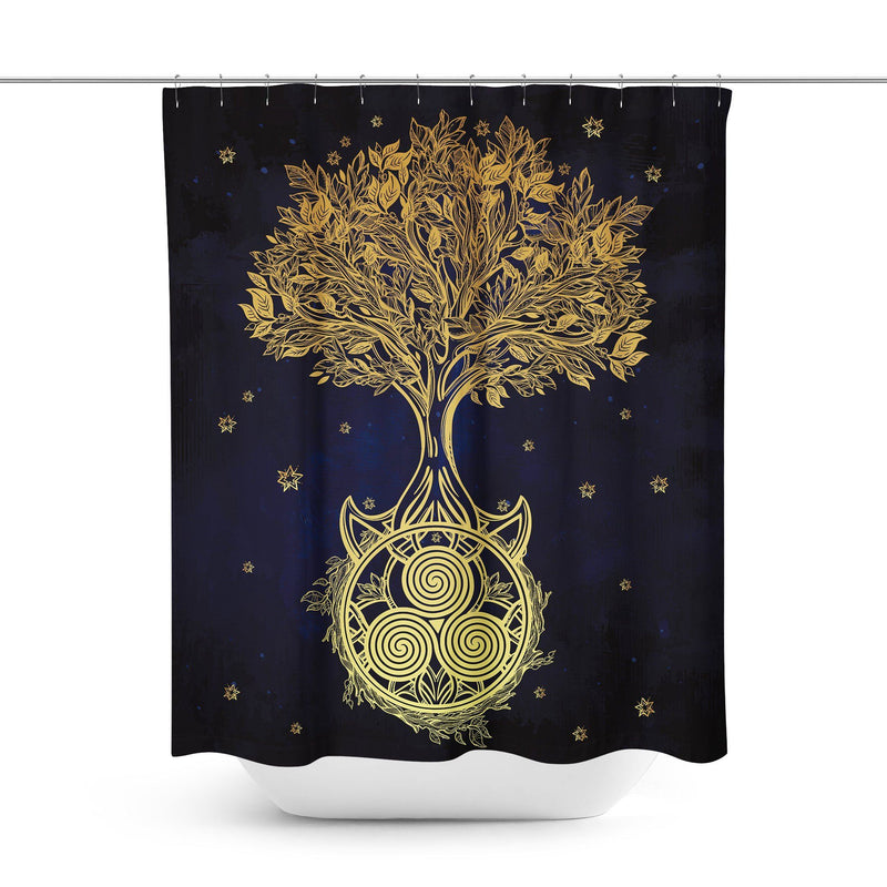 Tree of Life Shower Curtain-W.FRANCIS