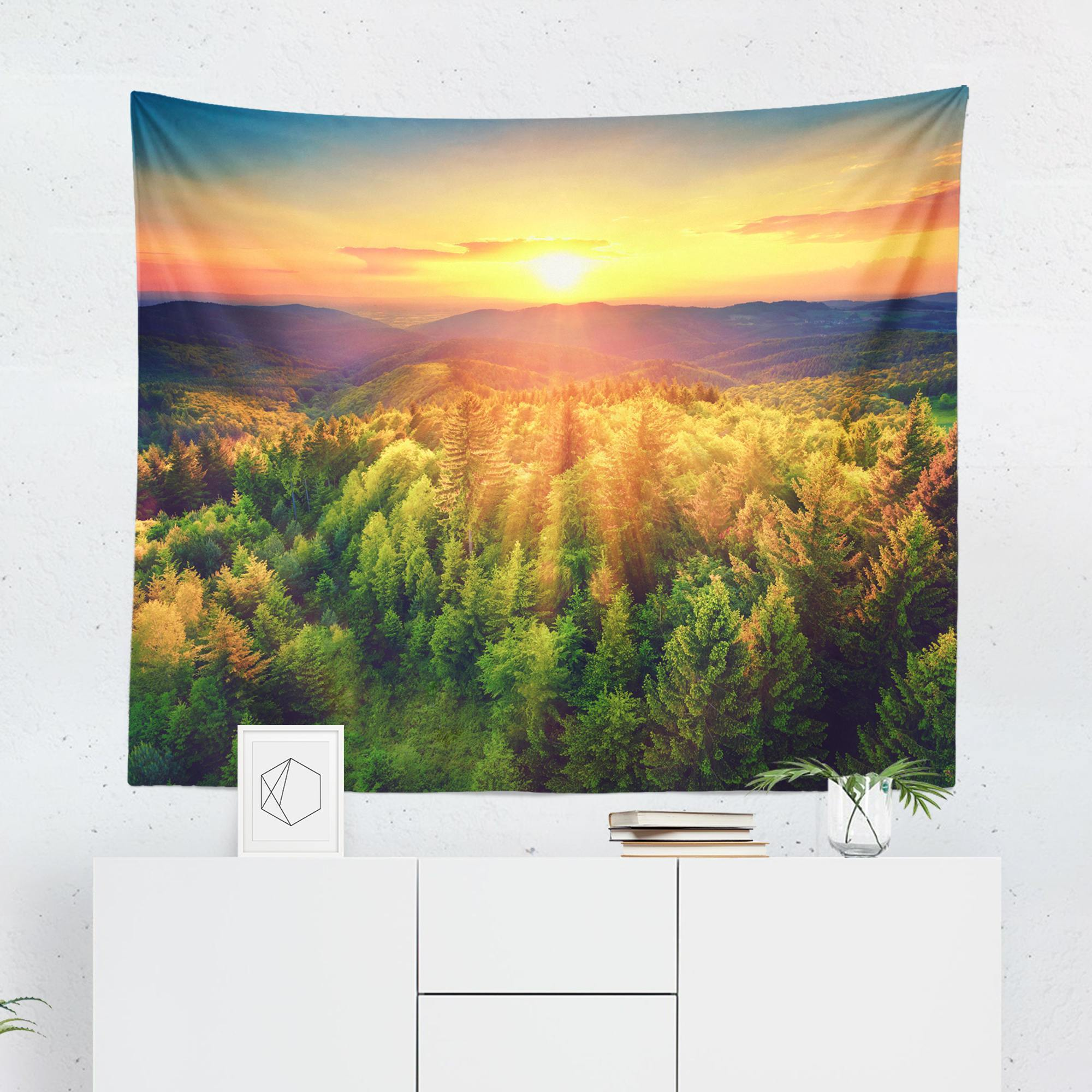 Tree Tapestry - Sunrise - Tapestries - W.FRANCIS