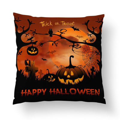 Trick or Treat Throw Pillow-W.FRANCIS