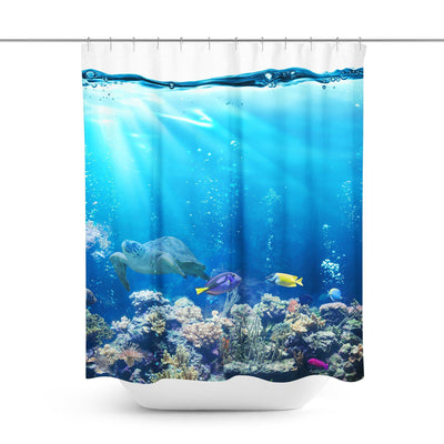 Tropical Reef Shower Curtain-W.FRANCIS