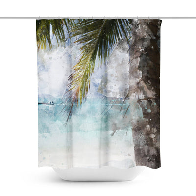 Tropical Shower Curtain-W.FRANCIS