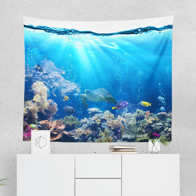 Underwater Wall Tapestry - Tapestries - W.FRANCIS